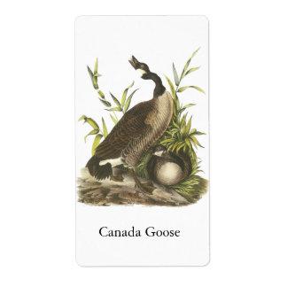 Canada Goose, John Audubon Personalized Shipping Labels