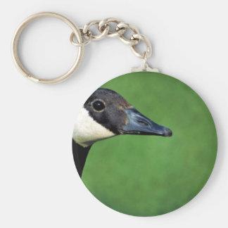 Canada goose keychain