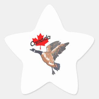 CANADA GOOSE MAPLE LEAF STAR STICKER