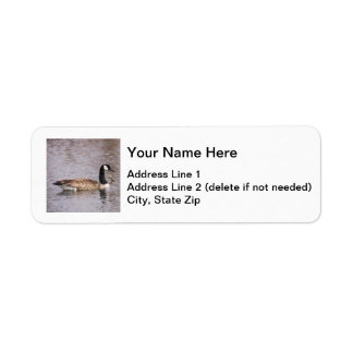 Canada Goose Return Address Label