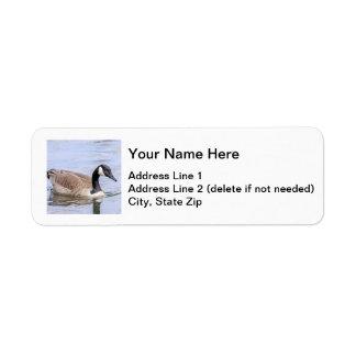 Canada Goose Return Address Label