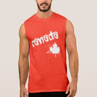 Canada Graffiti Sleeveless Shirt