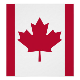 Canada High quality Flag Poster