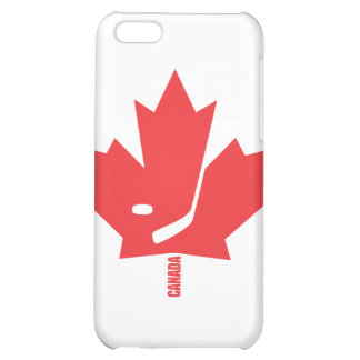 Canada Hockey Maple Leaf iPhone 5C Cases