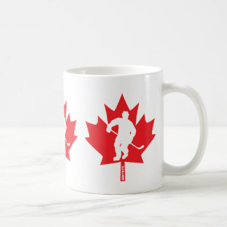 Canada Hockey Maple Leaf Player Coffee Mug