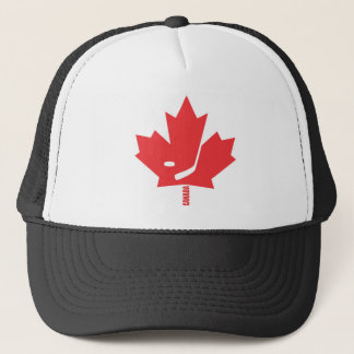 Canada Hockey Maple Leaf Trucker Hat