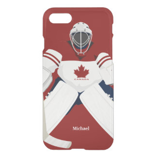 Canada Hockey Team Goalie iPhone 7 Case