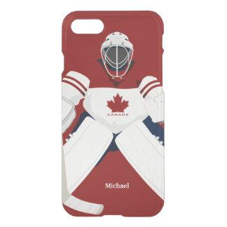 Canada Hockey Team Goalie iPhone 7 Case