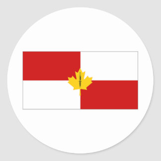 Canada Infantry Branch Camp Flag Stickers
