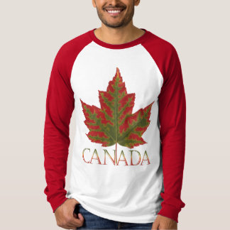 Canada Jersey Autumn Canada Maple Leaf Souvenirs T-Shirt