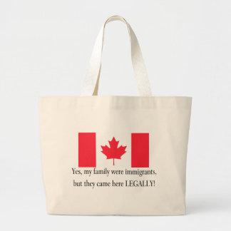 Canada Jumbo Tote Bag