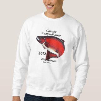 CANADA King Salmon; Canpbell River. Sweatshirt