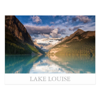 Canada - Lake Louise postcard with text