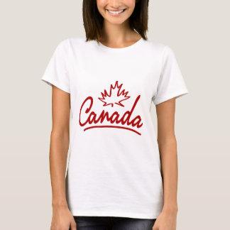 Canada Leaf Script T-Shirt