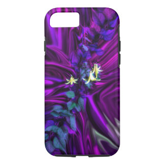 Canada Lily Purple Abstract Phone Case