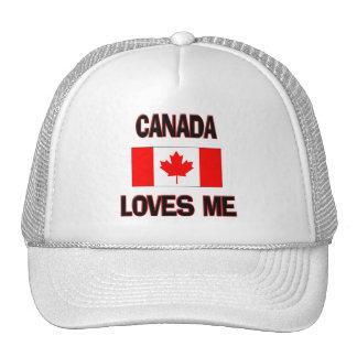 Canada Loves Me Trucker Hats