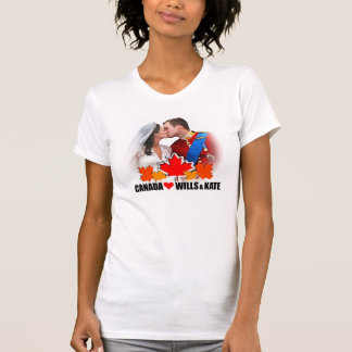 Canada Loves Prince William & Kate Middleton Shirt