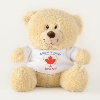 Canada Loves You Teddy Bear