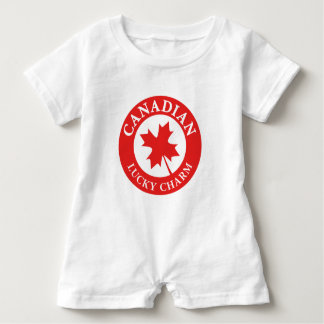 Canada Lucky Charm Luck ED. Series Baby Romper