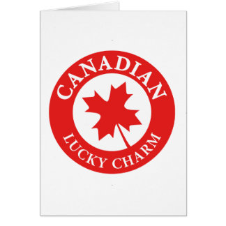 Canada Lucky Charm Luck ED. Series Card