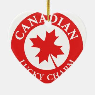 Canada Lucky Charm Luck ED. Series Ceramic Ornament
