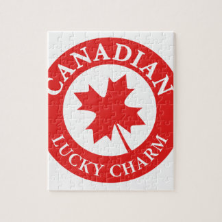 Canada Lucky Charm Luck ED. Series Jigsaw Puzzle