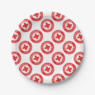 Canada Lucky Charm Luck ED. Series Paper Plate