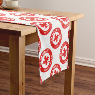 Canada Lucky Charm Luck ED. Series Short Table Runner