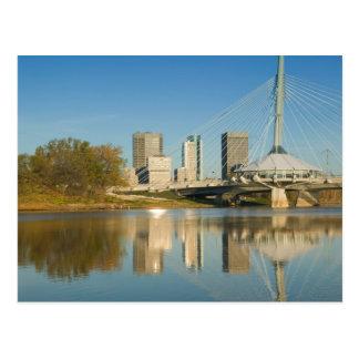 CANADA, Manitoba, Winnipeg: Esplanade Riel 2 Postcard