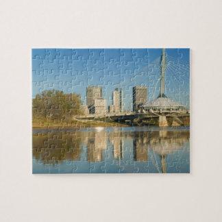 CANADA, Manitoba, Winnipeg: Esplanade Riel 2 Puzzle