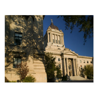 Canada, Manitoba, Winnipeg: Manitoba Legislative Postcard
