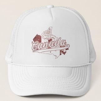 Canada Map Trucker Hat