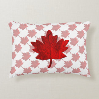 Canada-Maple Leaf Accent Pillow