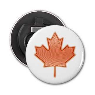 Canada Maple Leaf Bottle Opener