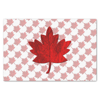 Canada-Maple Leaf by Shirley Taylor Tissue Paper