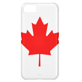 Canada Maple Leaf Cover For iPhone 5C