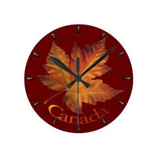 Canada Maple Leaf Clock Canada Souvenir Wall Clock