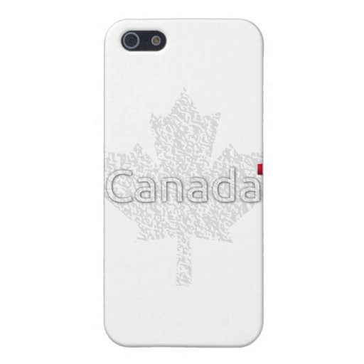 Canada Maple Leaf iPhone 5 Cases