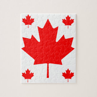 Canada Maple Leaf Jigsaw Puzzle