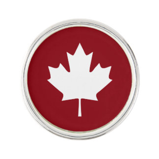 Canada Maple Leaf Lapel Pin