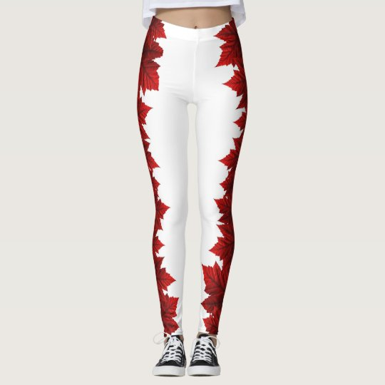 Canada Maple Leaf Leggings Autumn Leaves Leggings