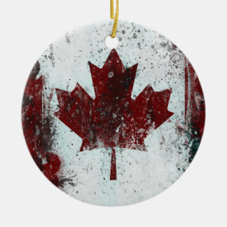 Canada Maple Leaf Ornament