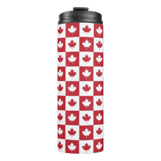 Canada Maple Leaf Pattern Tumbler