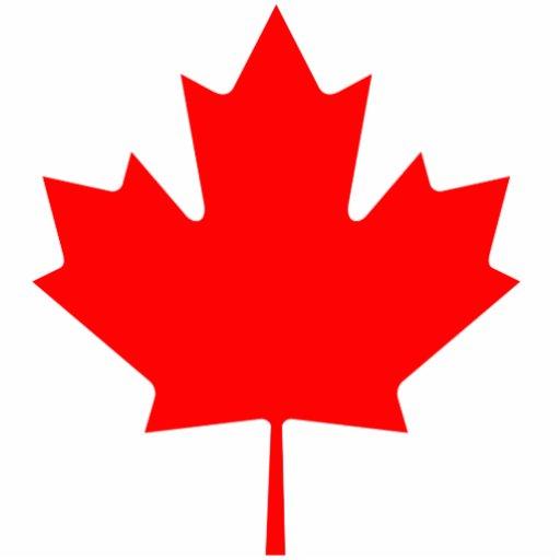 Canada Maple Leaf Photo Cutout