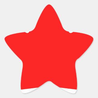 Canada - Maple Leaf Star Sticker