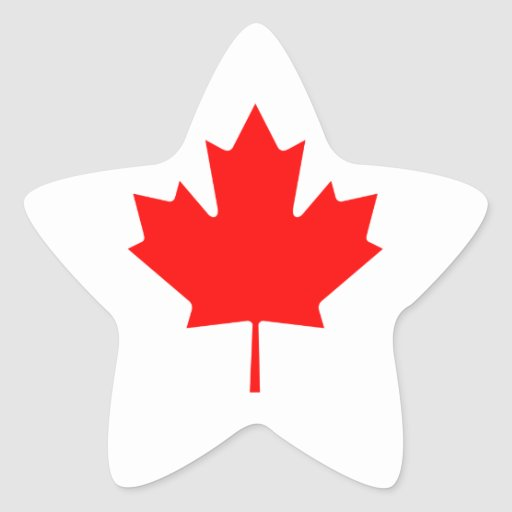 Canada Maple Leaf Stickers