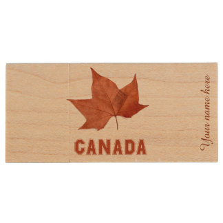 Canada Maple Leaf USB 3.0 Flash Drive Gift