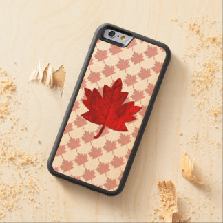 Canada-Maple Leaf Carved® Maple iPhone 6 Bumper