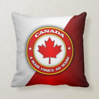 Canada Medallion Throw Pillow