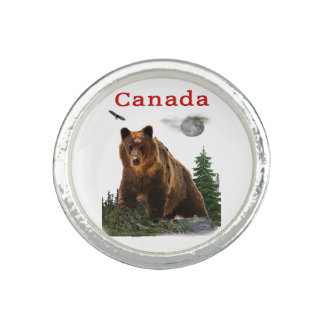 Canada merchansdise photo ring